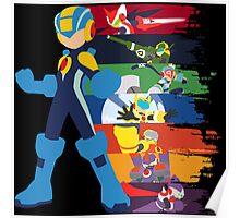Megaman: Souls of a Hero V2 Minimal Poster