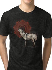Wolf Totem Tri-blend T-Shirt