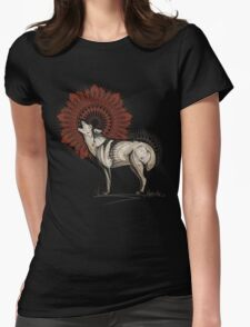 Wolf Totem Womens Fitted T-Shirt