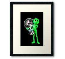 Alien Idea Framed Print