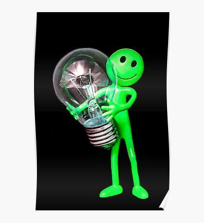 Alien Idea Poster