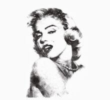 Marilyn Monroe portrait 01 Kids Tee