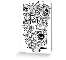 The Monsters In My Mind Greeting Card