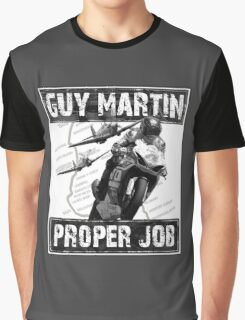 Guy Martin 'Proper Job' design Graphic T-Shirt