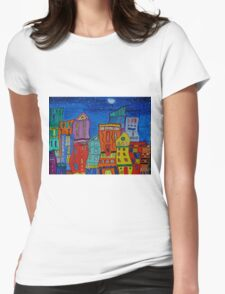 highrise 2 Dimension Womens Fitted T-Shirt