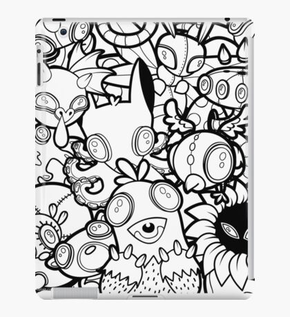 The Monsters In My Mind iPad Case/Skin