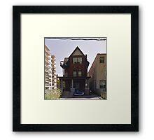 House Of Balloons Framed Print