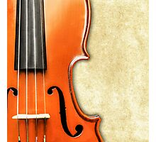 Vintage Violin Photographic Print