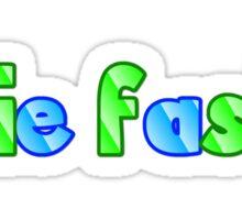 Obie Faste NEW Logo Sticker