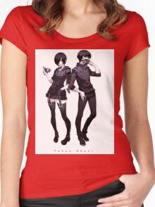 Tokyo Ghoul Touka Ken Women's Fitted Scoop T-Shirt