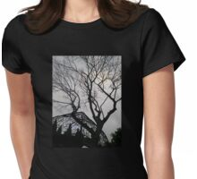 Haunted Garden Womens Fitted T-Shirt
