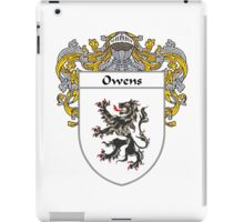 Owens Coat of Arms / Owens Family Crest iPad Case/Skin