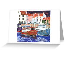 Pittenweem Harbour 2 Greeting Card