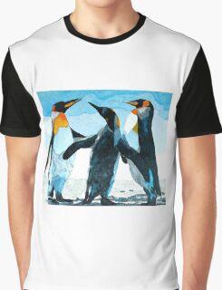 Three Penguins Graphic T-Shirt