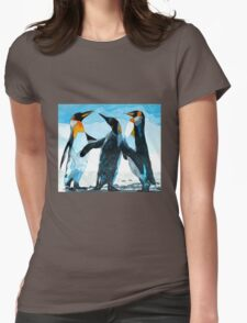 Three Penguins Womens Fitted T-Shirt
