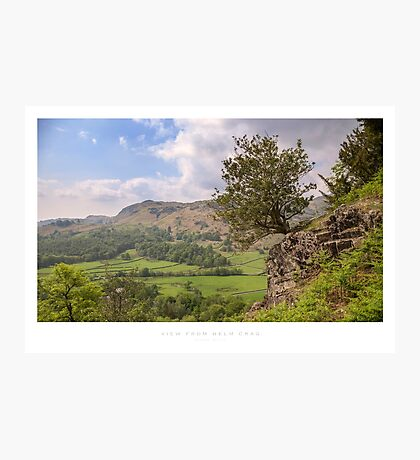 View from Helm Crag Photographic Print