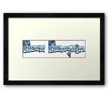 Beau Benguin Logo Framed Print