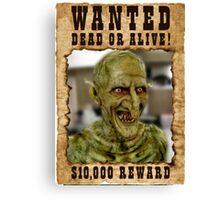 Buffy Gnarl Demon Wanted Canvas Print