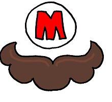 Mario Moustache by amyjowett