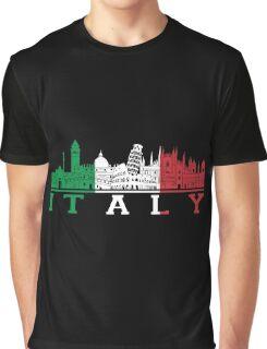 Italian - I Love Italy Graphic T-Shirt