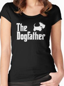 The Dogfather Women's Fitted Scoop T-Shirt