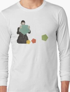 Discovering New Shapes Long Sleeve T-Shirt