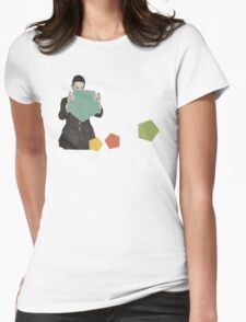 Discovering New Shapes Womens Fitted T-Shirt