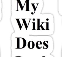 MGM- Wikki Sticker