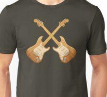 Natural strat guitars Unisex T-Shirt