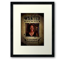 Buffy Halfrek Framed Print