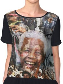 Nelson Mandela Chiffon Top