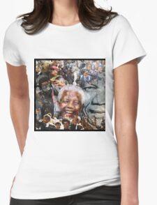 Nelson Mandela Womens Fitted T-Shirt