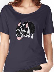 Boston Terrier Women's Relaxed Fit T-Shirt