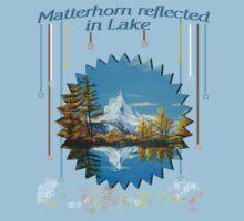 Matterhorn Mountain lake view One Piece - Short Sleeve