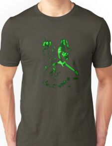 Frequency: Green Unisex T-Shirt