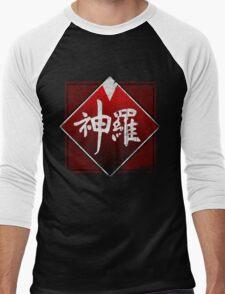 Shinra grunge logo Men's Baseball ¾ T-Shirt