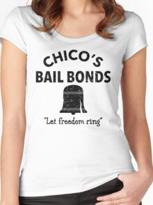 Chico's Bail Bonds Women's Fitted Scoop T-Shirt