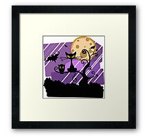 Animals of halloween Framed Print