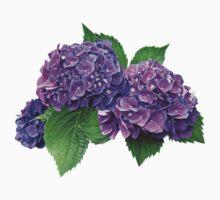 Purple Hydrangea Kids Clothes