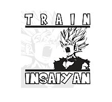 Train Insaiyan - Teen Gohan Photographic Print