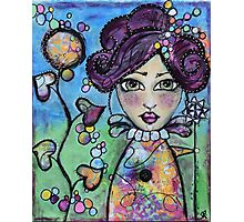 Autumn Doll Photographic Print