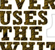 MGM- White 2014 Sticker