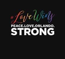 #LoveWins - Remembering Orlando Unisex T-Shirt