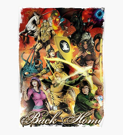 Dungeons & Dragons Back Home Poster