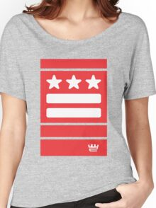 DC Represent (red) Women's Relaxed Fit T-Shirt