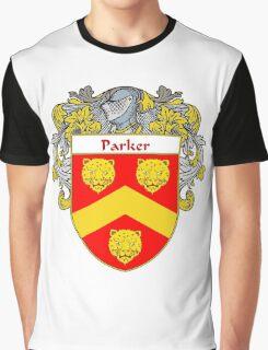 Parker Coat of Arms / Parker Family Crest Graphic T-Shirt