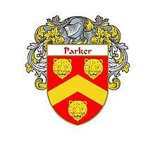 Parker Coat of Arms / Parker Family Crest Photographic Print