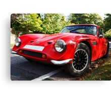 Classic sports car  Canvas Print
