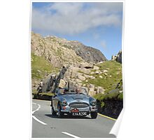 Three Castles Classic Welsh Trial 2014 - Austin Healey ... Poster