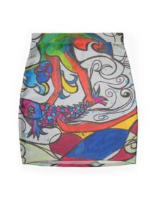 Jumping Fish Mini Skirt